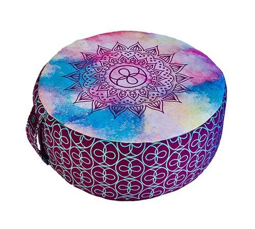 zafu meditation cushion crystal therapy